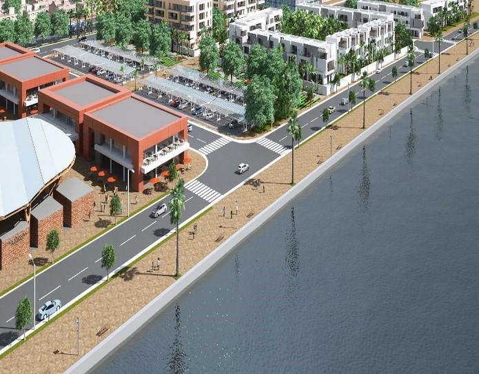 Development of Niger River banks